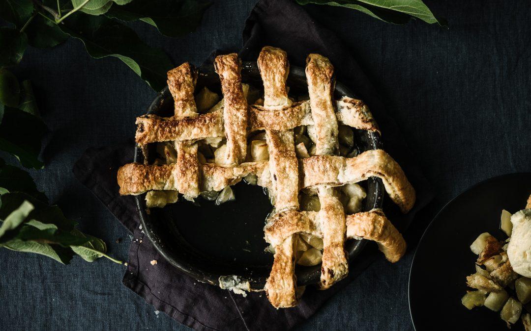 Chocolate Pastry Apple Pie